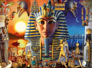 puzzle Ravensburger 300 dílků XXL - Starověký Egypt 129539
