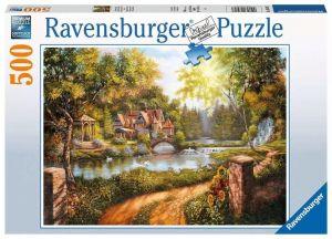 puzzle Ravensburger  500 dílků - Domek 165827
