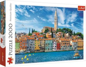 Puzzle Trefl 2000 dílků - Rovinj- Chorvatsko 27114