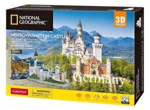 3D puzzle CubicFun Zámek Neuschwanstein  121 dílků NG