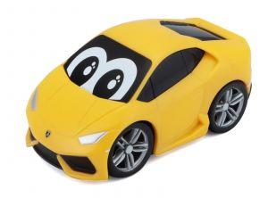 Autíčko Bburago  3,5''  ( 9 cm )  - Lamborghini Huracan - žluté