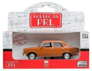 Autíčko PLR 1:43 - Fiat 125P - hnědá  barva