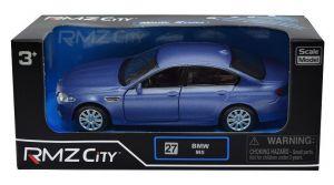 Autíčko RMZ 1:32 - BMW M5  - modrá  barva