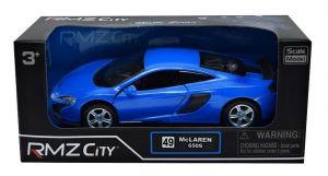 Autíčko RMZ 1:32 - McLaren 650S - modrá barva