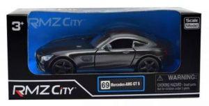 Autíčko RMZ 1:32 - Mercedes-Benz GT S  AMG 2018 - šedá  barva
