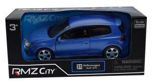 Autíčko RMZ 1:32 - Volkswagen Golf GTI - modrá  barva