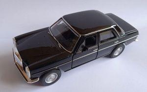 auto Welly -  Mercedes Benz  220 - černá   barva