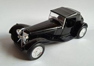 auto Welly -  SS Jaguar 100  - černá barva