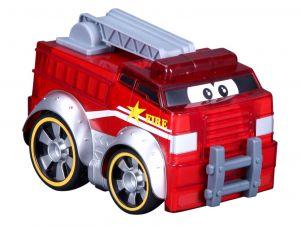 Bburago - hasičský vůz  se světlem a zvuky