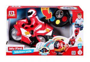 Buurago - RC motocykl s figurkou  - červená barva