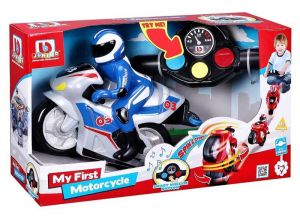 Buurago - RC motocykl s figurkou  - modrá barva