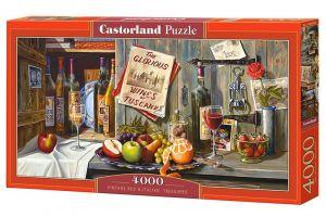 Castorland puzzle  4000 dílků  Červené víno a Italské poklady  400324