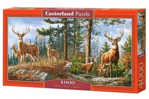 Castorland puzzle  4000 dílků  Jelení rodinka  400317