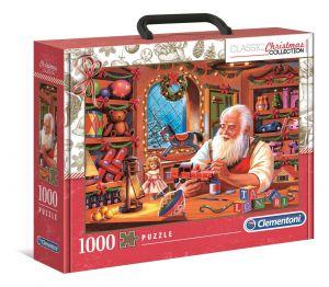 Clementoni Puzzle 1000 dílků  - Krátký příběh - Sváteční edice 39584