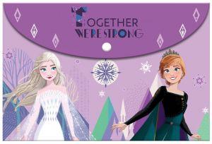 Diakakis - složka plastová  A4 s drukem - Frozen II