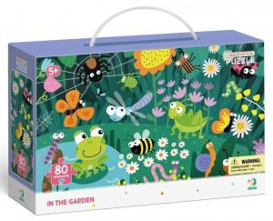 Dodo puzzle 80 dílků s hledáním obrázků -  V zahradě
