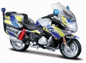 Maisto motorka 1:18 Yamaha FJR 1300A - Czech - Policie  v českých  barvách