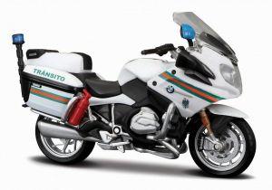 Maisto motorka 1:18 Yamaha FJR 1300A - Portugal Brigada de Transito  - bílá