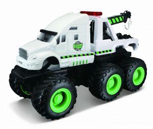 Maisto - Quarry Monsters - Odtahový vůz   20 cm - bílá  barva