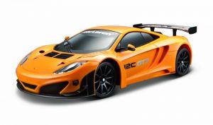 Maisto - RC auto - USB dobíjení - McLaren 12C GTS  1:24 oranžová  barva