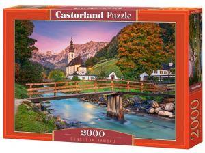 Puzzle Castorland 2000 dílků  - Ramsau - Alpy  200801