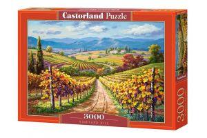 Puzzle Castorland 3000 dílků  - Vinice Hill  300587
