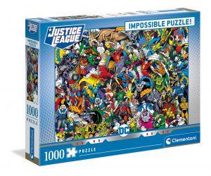 Puzzle Clementoni 1000 dílků - Nekoneční  - DC Comics  39599