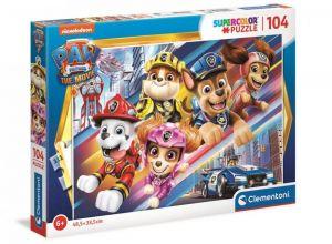 Puzzle Clementoni  - 104 dílků  -  Paw Patrol - Tlapková patrola   27529