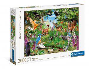 Puzzle Clementoni 2000 dílků - Fantastický les  32566