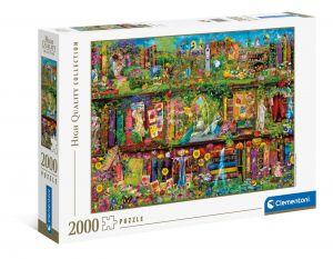 Puzzle Clementoni 2000 dílků - Umělcova knihovna  32567