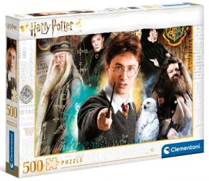 Puzzle Clementoni 500 dílků - Harry Potter  II  35083