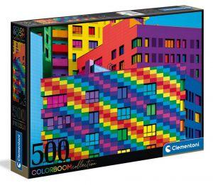 Puzzle Clementoni 500 dílků  - Squares  35094