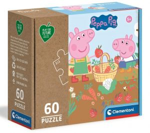 Puzzle Clementoni  60 dílků FFP -   Prasátko Peppa   26103