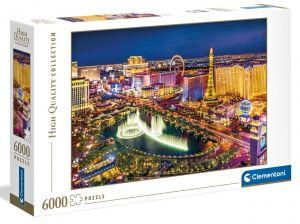Puzzle Clementoni 6000 dílků - Las Vegas  36528