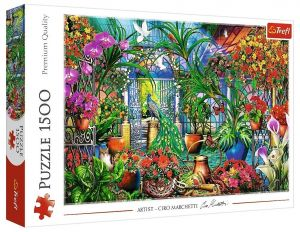 Puzzle Trefl 1500 dílků - Ciro Marchetti -  Tajemná zahrada 26188