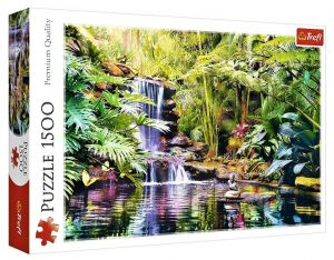 Puzzle Trefl 1500 dílků - Oáza pohody  26187