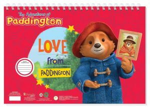 Set omalovánek + nálepek + skicák  -  Medvídek Paddington