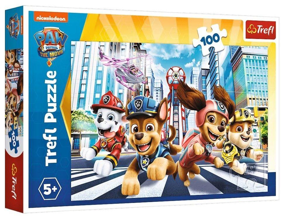 Trefl Puzzle 100 dílků - Paw Patrol - Tlapková patrola 16414