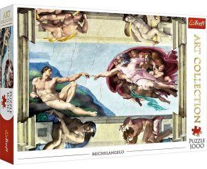 TREFL  Puzzle  1000 dílků  Michelangelo - Stvoření Adama  10590