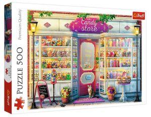 TREFL Puzzle  500 dílků -  Cukrárna  37407