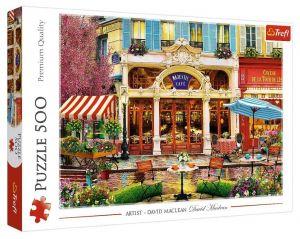 TREFL Puzzle  500 dílků -  David Maclean - kavárna 37406
