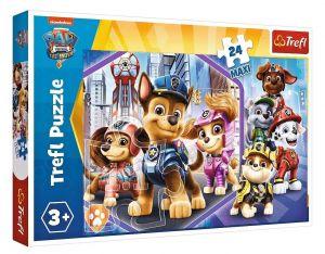 Trefl Puzzle Maxi 24 dílků - Psí patrola - hrdinové na hlídce 14343