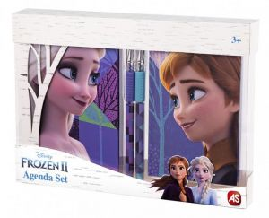 AS - dárková  sada 2 památníků + 2 propisek -  Frozen II