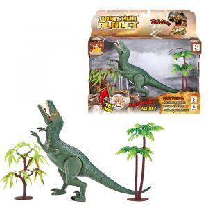 Askato - interaktivní dinosaurus s efekty - zelený
