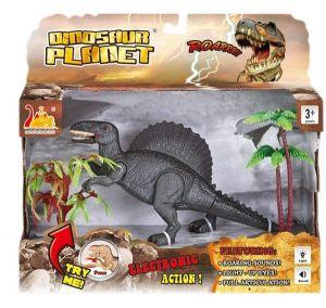 Askato - interaktivní dinosaurus  s efekty - tmavě zelený