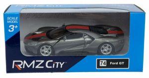 Autíčko RMZ 1:32 - Ford GT - šedá barva Daffi