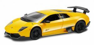 Autíčko RMZ 1:32 - Lamborghini Murcielago LP 670-4 SV - žlutá barva Daffi