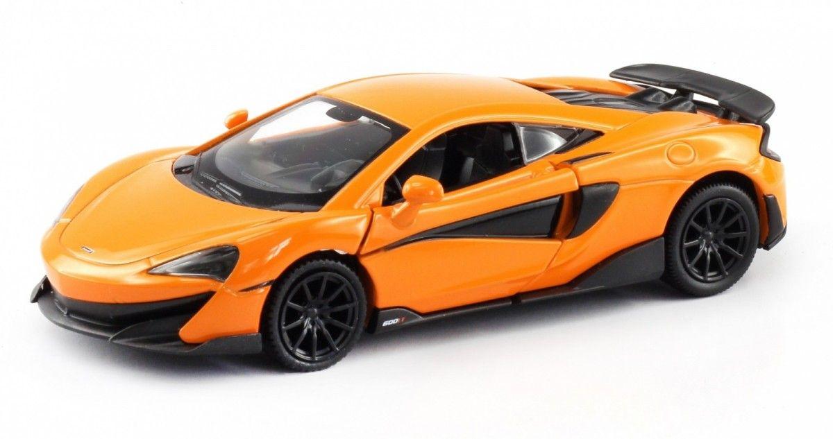 Autíčko RMZ 1:32 - McLaren 600LT - oranžová barva Daffi