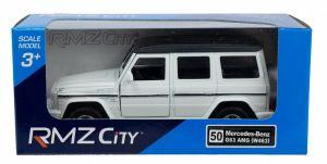 Autíčko RMZ 1:32 - Mercedes Benz G63 AMG - bílá barva Daffi