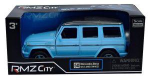 Autíčko RMZ 1:32 - Mercedes-Benz G63 AMG  -   mat. modrá  barva